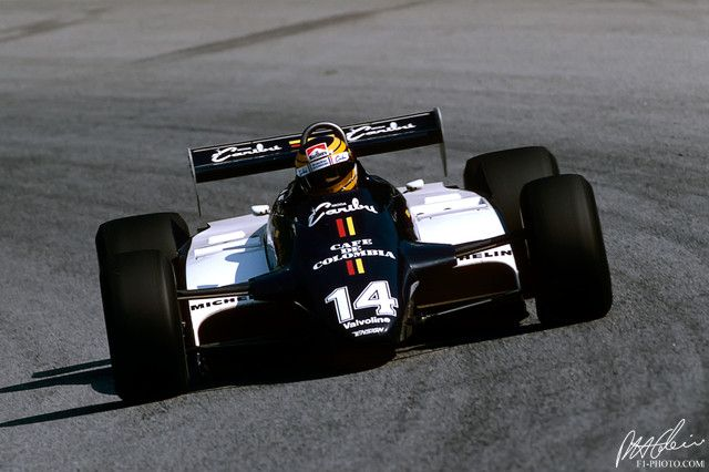 1982 GP Włoch (Roberto Guerrero) Ensign N181 - Ford