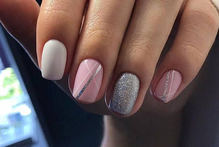 Шеллак дизайн на короткие ногти картинки