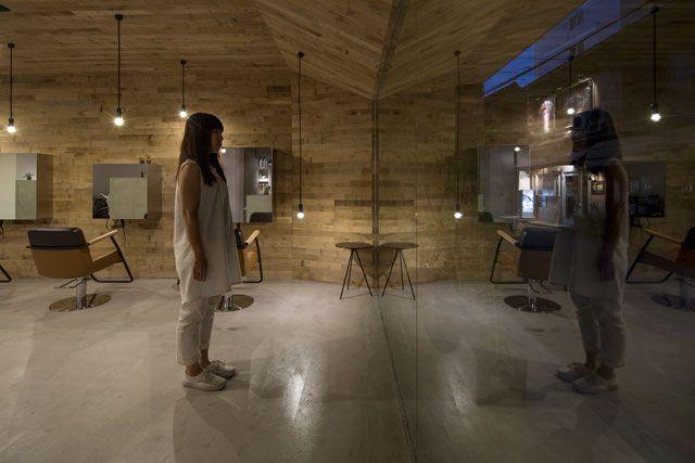 mook 美容室 店舗デザイン 奥和田健建築設計事務所