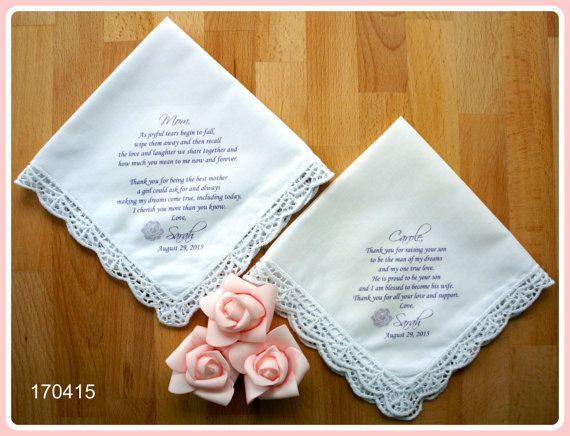 Mother Of The Groom Gift: Best 25+ Wedding Handkerchief Ideas On Pinterest