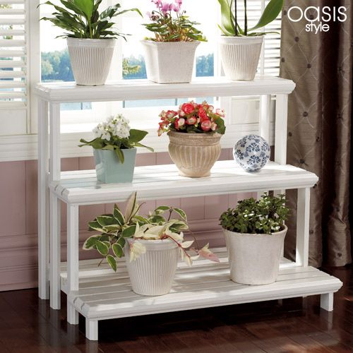 Tiered Shelf How To. I Can Think Of So Many Uses For A Shelf · Garden  ShelvesPlant ...
