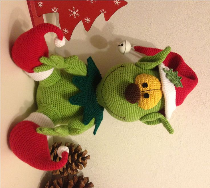 De Grinch | Amigurumi Haken | blog . patronen . tips & tricks