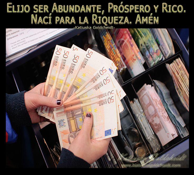 Afirma: Atraigo buenas oportunidades para ganar Dinero http://katiuskagoldcheidt.com/afortunado-y-prospero/