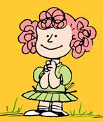 Peanut S Frieda With The Naturally Curly Hair Had A Tendency To Defy Elished Tradition By Turning Snoopy Into Regular Four Legged Canine
