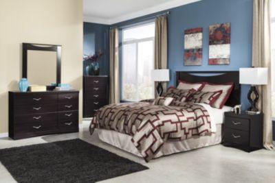 Ashley Zanbury 4-Piece Queen Headboard Bedroom Set