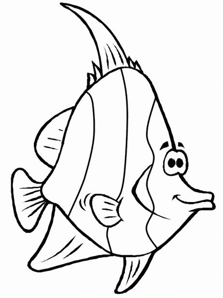 Fische 5 Ausmalbilder