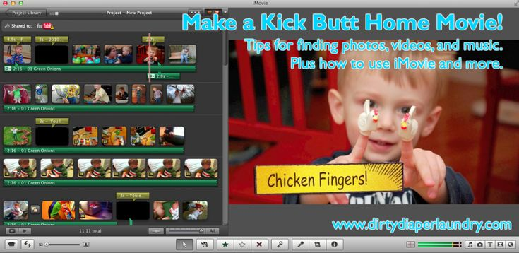 My BEST tutorial to date.  See how I make those amazing yearly videos for my kids using iMovie.