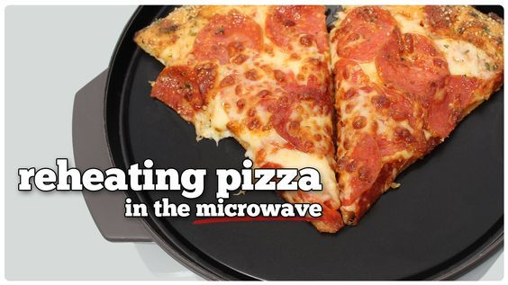 Reheating Pizza in the Microwave with Reheatza