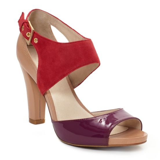 kate spade reena sandal in red/violet: Spade Reena, Fun Shoes, Choo Shoes, Style Inspiration, Scarp Kate, Color Blocks, Kate Spade, Spade Autunno, Colorblock Sandals