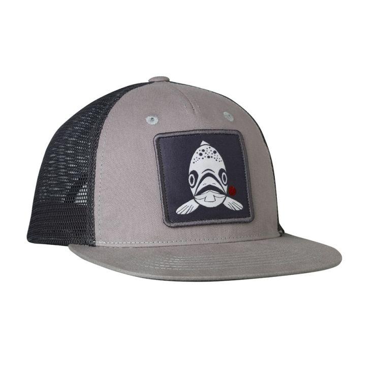Redington trout trucker hat fishwest everyday gear for Fly fishing trucker hat