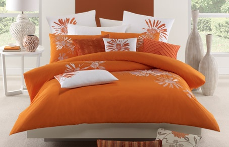 The beautiful and fresh Catalina. Orange is a fresh new colour this autumn.