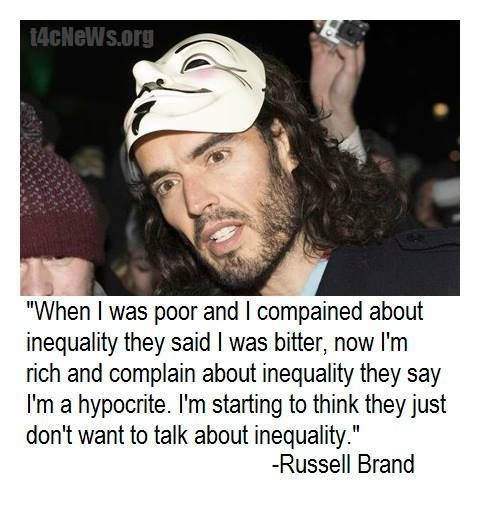 When I was poor and complained about inequality