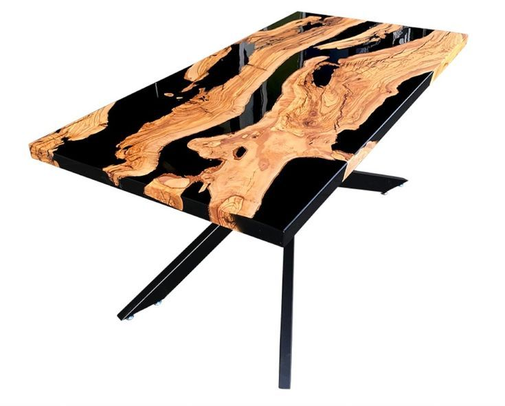Olivee Wood Epoxy Resin Table Made In Turkey Wood resin