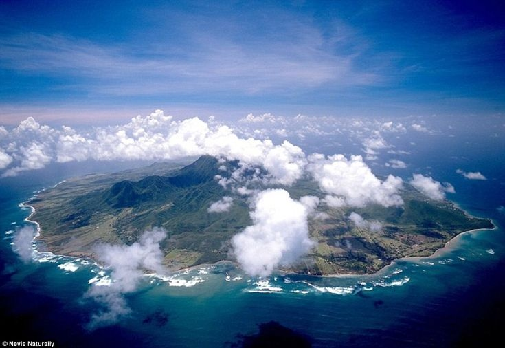 Diana flew to Nevis (pronounced Nee-vis) for peace and solitude, and the 36-square mile is...