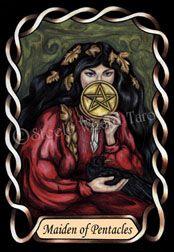 Maiden of Pentacles