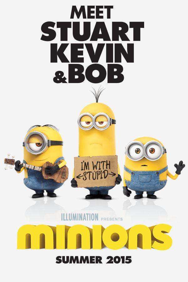 Meet Stuart, Kevin, & Bob. | Minions Movie | In Theaters July 10th