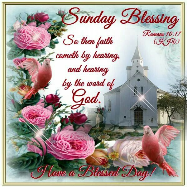 Sunday Blessing, Romans A Blessed Day!
