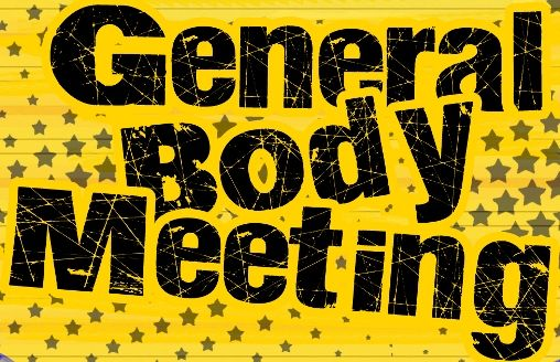 Co-operative Housing Society – General body meeting
