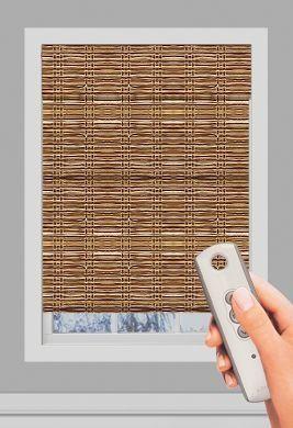 Graber -Blinds & Shades   Natural Shades   Order Tradewinds® Standard Roman Natural Shades. Remote Control - Curtain Call Creations.