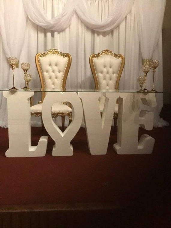 Love Letters Wedding Letter Love Party Centerpieces 30 Inches Tall 8