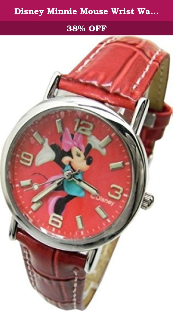 "Disney Minnie Mouse Wrist Watch For Girls .Large Analog Dial. 9""L Band. Disney Minnie Mouse Wrist Watch For Kids .Large Analog Dial. 9""L Band."