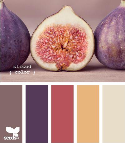 La naturaleza combina por nosotros los colores... :D