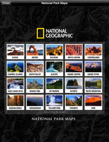 NATIONAL PARKS:   Beautiful pictures and quick, easy, helpful information