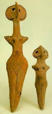 Figurines of Standing Women - Moldova - 3rd millenium BC