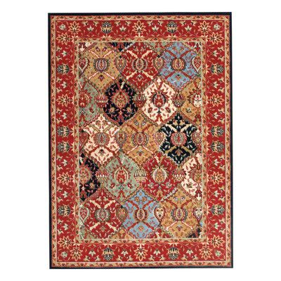 Andover Mills Standish Red Area Rug