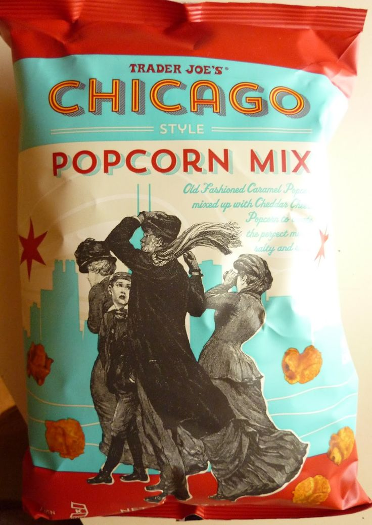 Read our review of Trader Joe's Chicago Style Popcorn Mix.