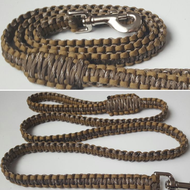 paracord dog leash instructions