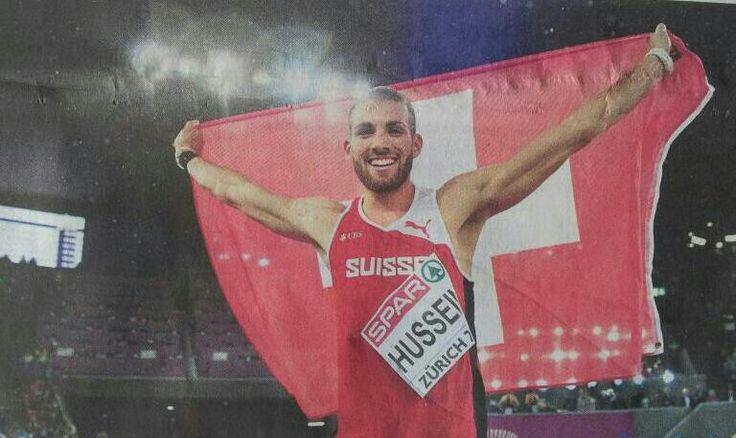 EM Zürich 2014: Kariem Hussein: Gold 400m Hürden!