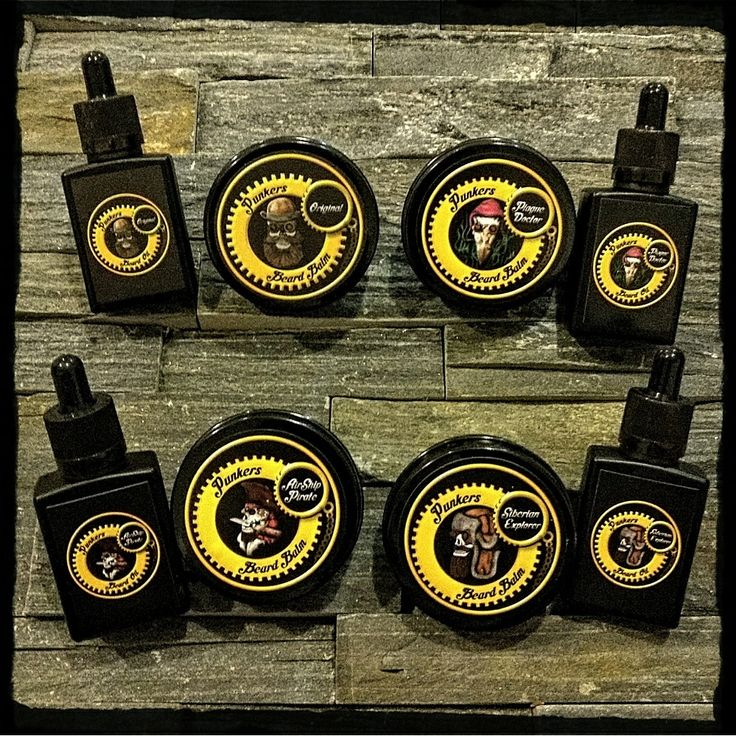 Premium Quality Beard Balms and Oils - with a hint of Steampunk