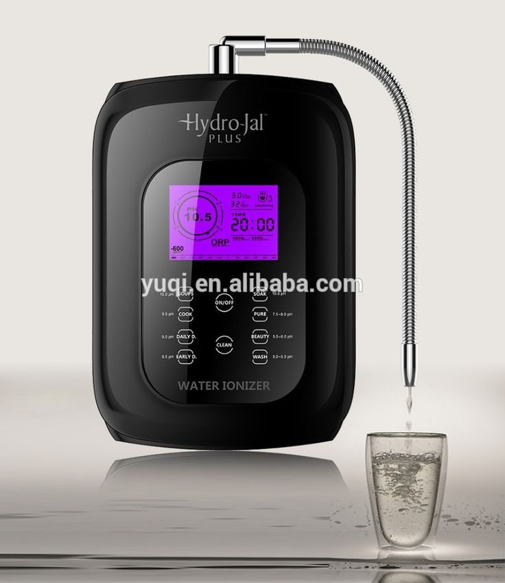 japan Modern platinum titanium electrode alkaline water ionizer machine/ionizer the water