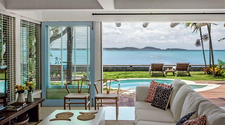 ACHADOS DE DECORAÇÃO: PARA RELAXAR: casa de praia - uma passagem para o paraíso