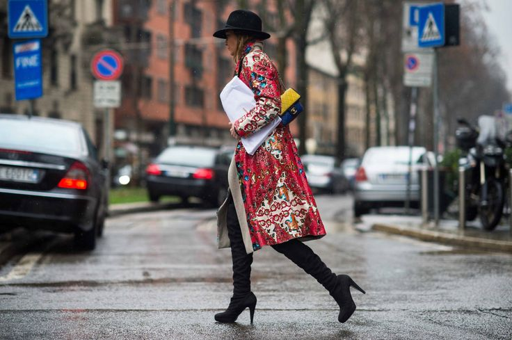 On the Streets of Milan Fashion Week Fall 2014  - Milan Street Style