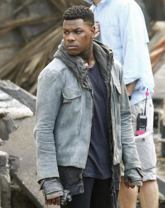 bohdisrook: John Boyega on the set of Pacific... - hey