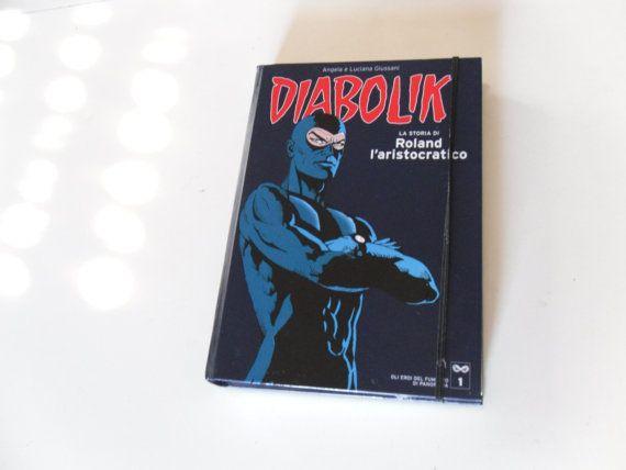 Diabolik book clutch pochette borsetta libro Custodia di SereneLab, €17.00