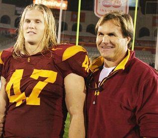 Clay Matthews III and Clay Matthews Jr.