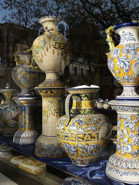 27 best talavera de la reina images on pinterest for Ceramica talavera madrid