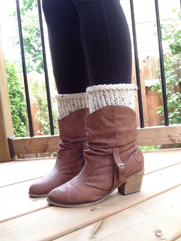 A personal favorite from my Etsy shop https://www.etsy.com/ca/listing/448690236/boot-cuffs-boot-socks-leg-warmers-knit