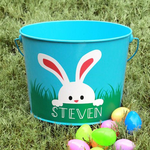Personalized Easter Basket | Analisa Murenin for Silhouette