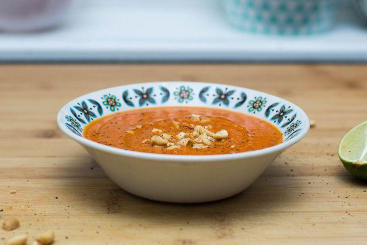 Thaiinspirert tomatsuppe