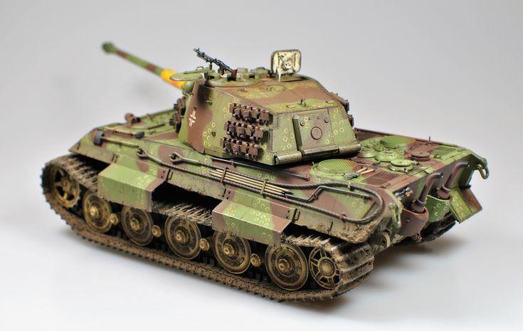 Sd.Kfz 182 King Tiger Takom 1:35