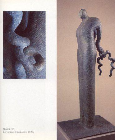 Mujer con espirales enredados - Jim Amaral