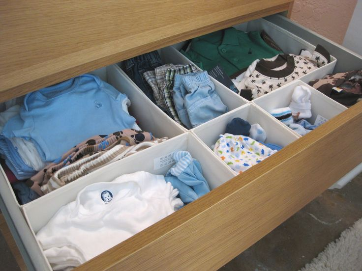 Drawer Organizer I Need To Find These Baby Dresser Organizationroom Organizationikea