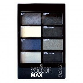 Face Of Australia Colour Max Eyeshadow Palette Smoky 8 g