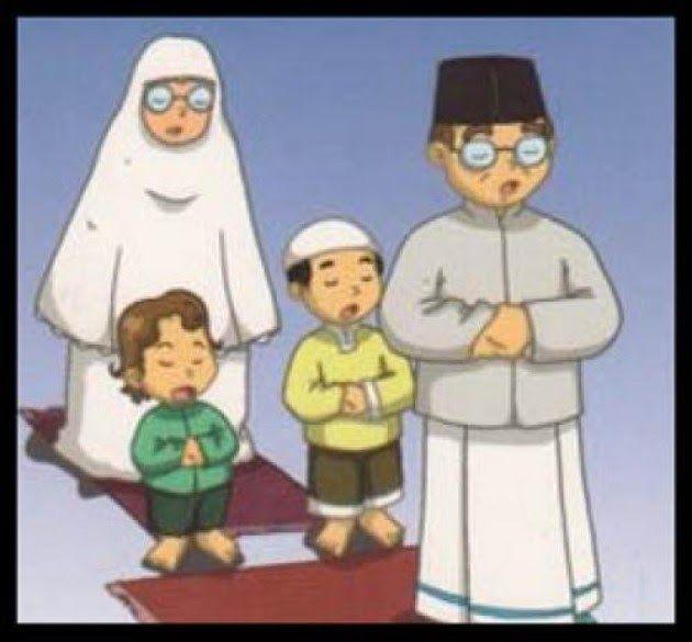 33 Gambar Kartun Orang Sholat Berjamaah Ayah Sutradara Shalat Jamaah Untuk Keluarga Hidayatullah Com Download Masih Malas Sala Kartun Gambar Gambar Kartun