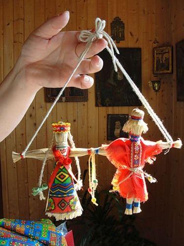 Неразлучники лыковые. Русский народный свадебный сувенир. - Ярмарка Мастеров - ручная работа, handmade