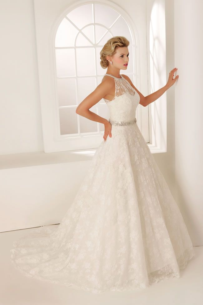 Sparkle down the aisle in the 2013 Veromia wedding dress collection